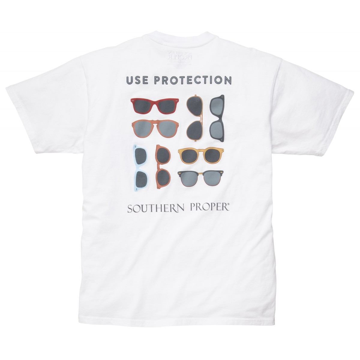 Use Protection Tee: White
